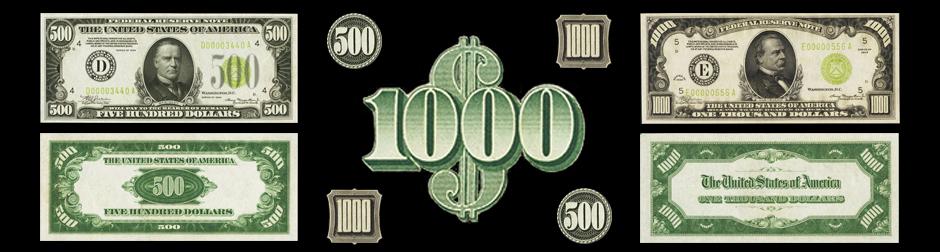 500s & 1000s Banner