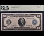 Fr. 1104 1914 $100 FRN Atlanta PCGS 55
