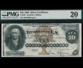 Fr. 287 1880 $10 Silver Certificate PMG 20