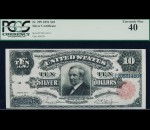 Fr. 299 1891 $10 Silver Certificate PCGS 40