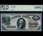 Fr. 30 1880 $1 Legal Tender PCGS 64PPQ