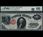 Fr. 36 1917 $1 Legal Tender PMG 66EPQ