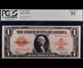 Fr. 40 1923 $1 Legal Tender PCGS 53