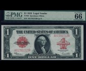 Fr. 40 1923 $1 Legal Tender PMG 66EPQ